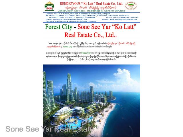 (SSV 8-00813) , Between Malaysia and Singapore, Forest City