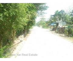 (SL 3-001010) For Sale Land,  Yadanar Thukha Street, North Dagon Township.