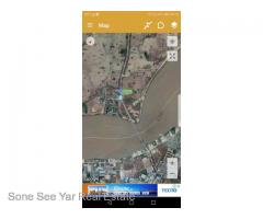 (RL6-001021) For Rent Land, Near Thanlyin No (2) Bridgfe Area , Near Toll Gate, Thanlyin TSP.