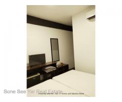 Near Mahar Bandula Bridge (RHL1-001050), For Rent Hotel @ Pazundaung Tsp.