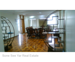 Corner of Inya Yeik Tha St. and Bawdi Yeik Tha St. (RC 8-001062) For Rent Condo @ Bahan Tsp.