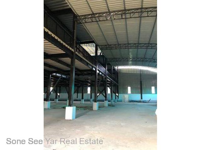 Entry from Seik Kan St to Wat Ma Sut Won Htouk St, (RI 17-001063) For Rent Industry @ Hlaingtharyar