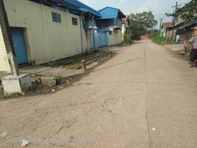 Gandawin 2nd St. (RI 5-001090), For Rent Industry Zone @ Hlaingtharyar Tsp.