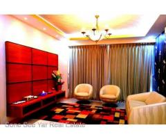 Pyay Garden Resident Condo (RC 9-001205) For Rent Condo @ Sanchaung Tsp.