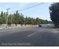 Kabar Aye Main Road , ( SL 21 - 001235) , For Sale Land @ Mayangone Tsp.