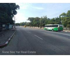 Kabar Aye Main Road , ( SL 21 - 001237) , For Sale Land @ Mayangone Tsp.