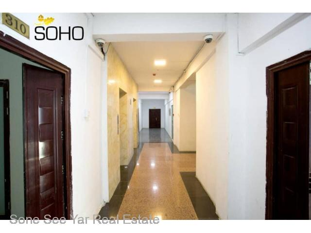 Bo Myat Tun Tower , (RC 9 - 001323) , For Rent Condo @ Botahtaung Township.