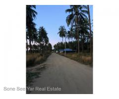 Ngwe Saung Beach, (SL19-001347) For Sale Land in Pathein Township,