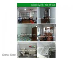 New University Yeik Thar St,(SA8-001382) For Sale Apartment in Bahan Tsp.