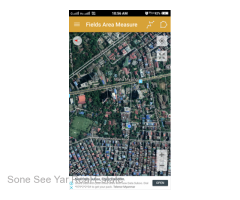 Ma Kyee Kyee St,(RL6-001472) For Rent Land at Sanchaung Tsp.