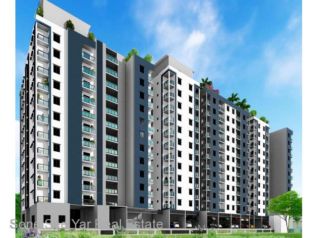 Dhamma Thukha St,(SC2-001488) For Sale Condo at Hlaing Tsp.