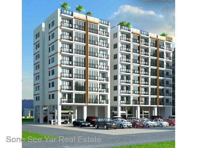 Aung Thit Sar St,(SC1-001491) For Sale Condo at Insein Tsp.