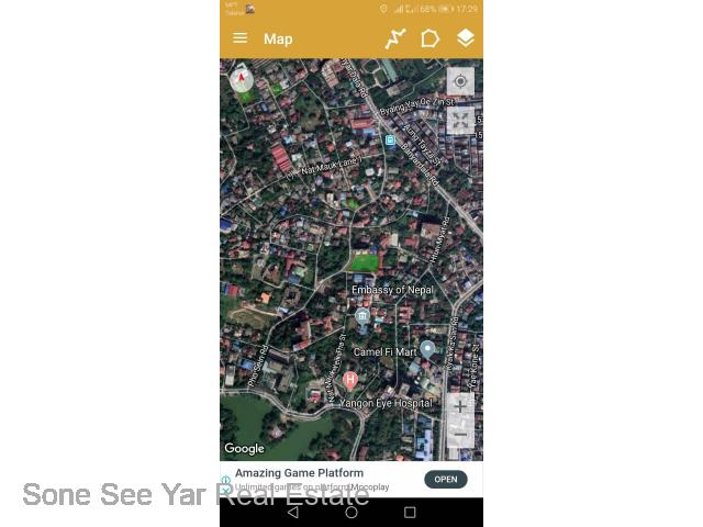 SL24-001869 For Sale Land, Phoe Sein St, Bahan Tsp;