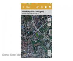 Rent -Lay Daungkan St, 1.5 Acre, Tamwe.