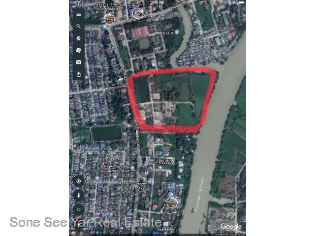 For Rent BOT System , 12 Acre , Thunandat Main Road , North Okkalapa