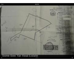 Sale Land Lower Pazundaung 7.139 Acre  Mingalartaungnyunt